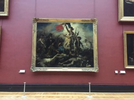 Delacroix painting - Musee du Louvre Private tour - yourtourinparis.com