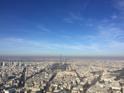 View from Montparnasse tower - Private walking tour in Paris - yourtourinparis.com