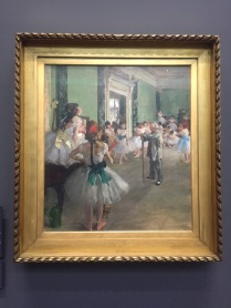 Degas' dance class - Musee d'Orsay - yourtourinparis.com