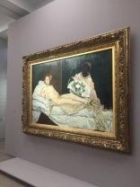 Manet's Olympia - Musee d'Orsay - yourtourinparis.com