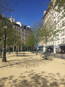 Ile de la cite little square - Private walking tour in Paris - yourtourinparis.com