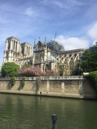 Notre Dame - Private walking tour in Paris side view - yourtourinparis.com